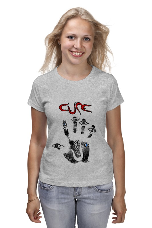 Футболка классическая Printio The cure / wish толстовка wearcraft premium унисекс printio the cure wish