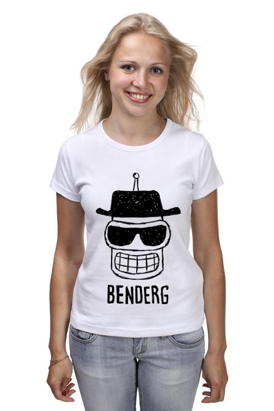 Футболка классическая Printio Бендер (bender)