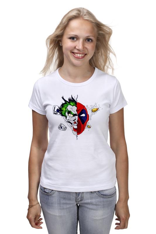 Футболка классическая Printio Joker x deadpool майка классическая printio deadpool joker