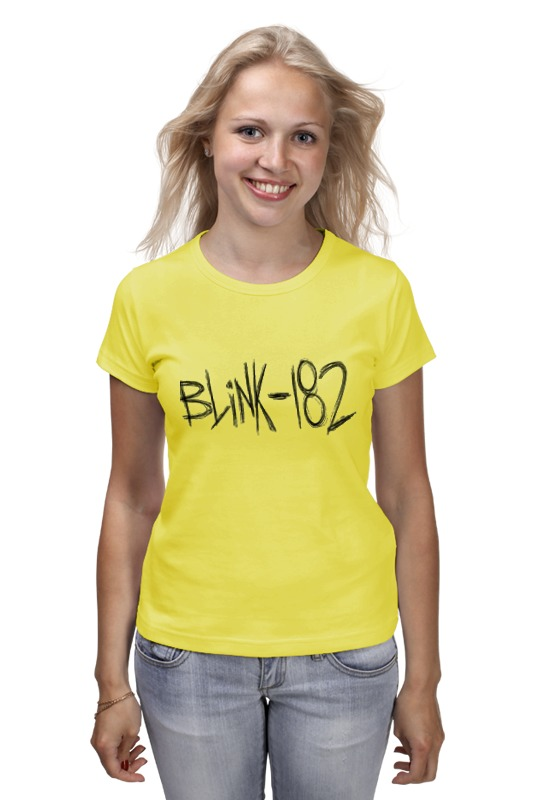 Printio Blink-182 yellow logo цены онлайн