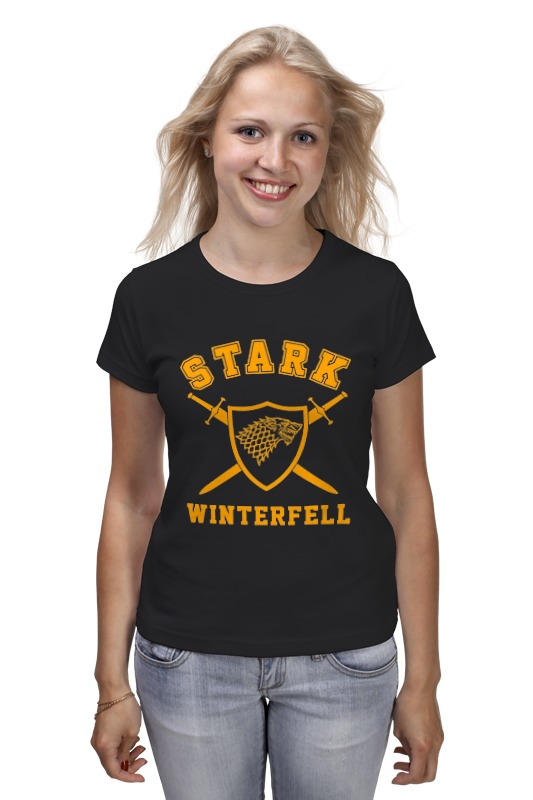 Футболка классическая Printio Старки (игра престолов) футболка wearcraft premium printio игра престолов