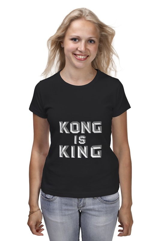 Футболка классическая Printio Kong is king (кинг конг) лонгслив printio kong is king кинг конг
