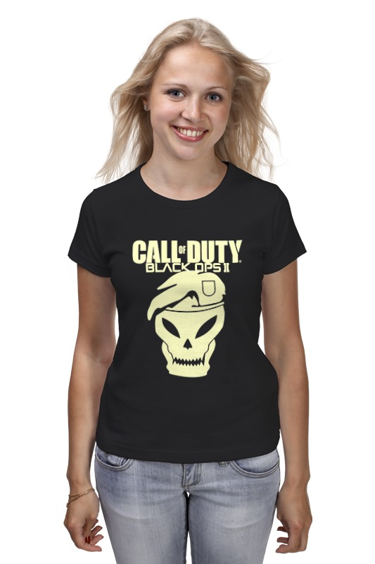 Футболка классическая Printio Call of duty black ops call of duty black ops ii signature