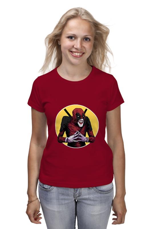 Футболка классическая Printio Deadpool joker майка классическая printio deadpool joker