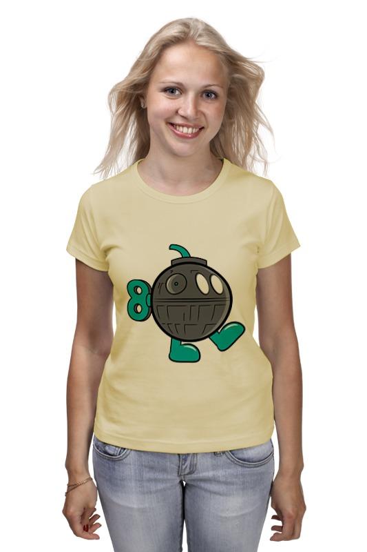Футболка классическая Printio Бомба (звезда смерти) футболка wearcraft premium printio бомба звезда смерти