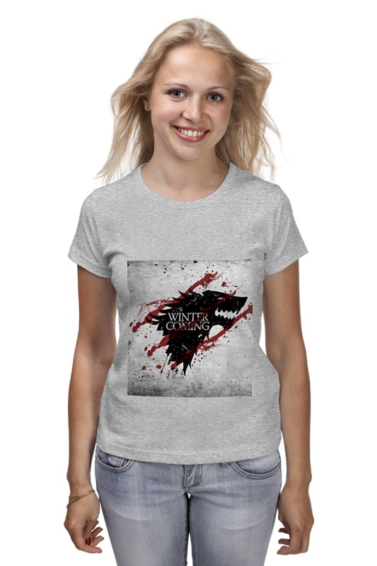 Printio Winter is coming футболка print bar death is coming
