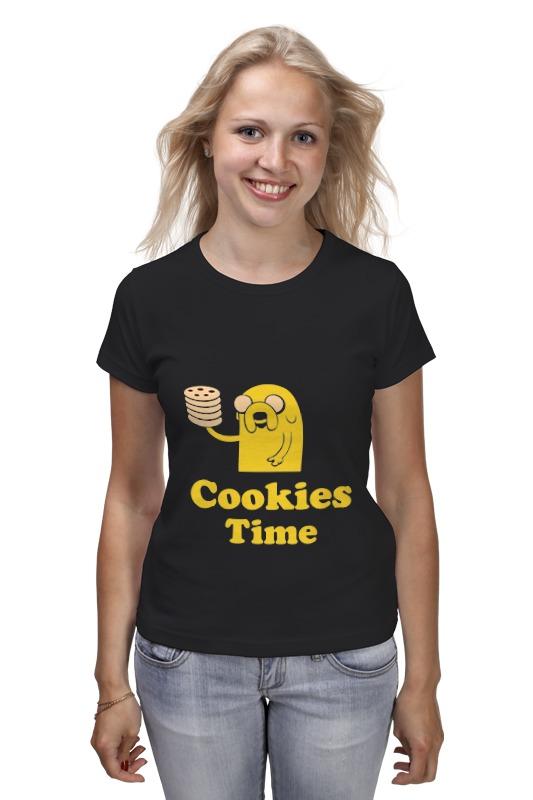 Футболка классическая Printio Jake cookies cookies