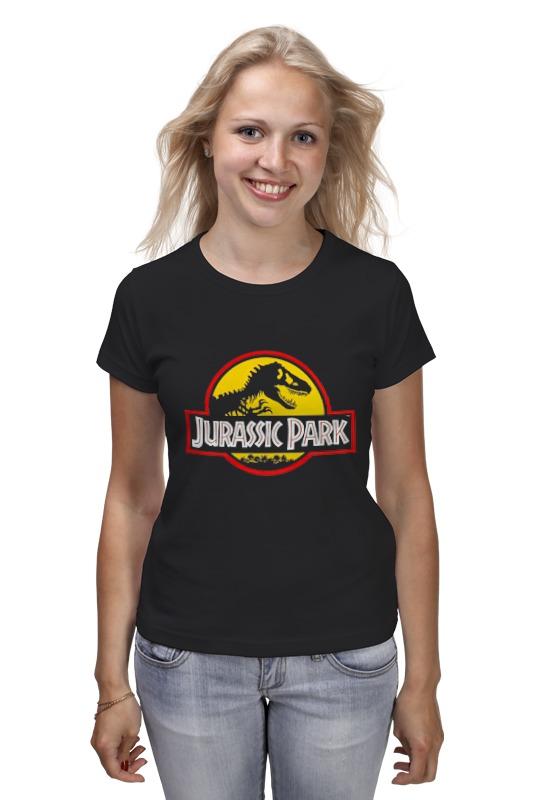 Футболка классическая Printio Jurassic park / парк юрского периода lamwin 6pcs lot large dinosaur toy collection set jurassic world park hollow model figure free gift dinossauro egg