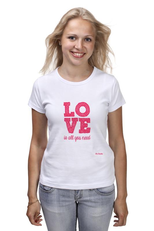 Футболка классическая Printio Любовь футболка классическая printio футболка любовь
