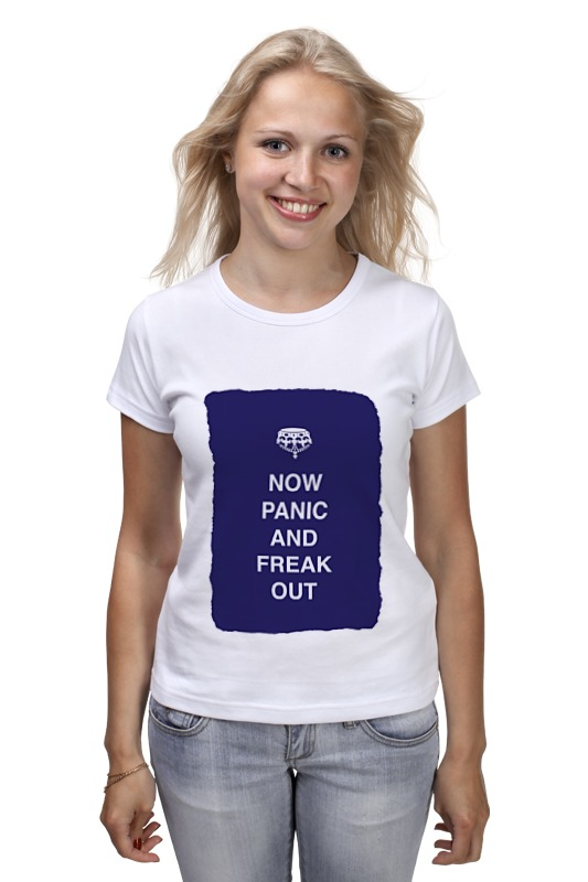 Футболка классическая Printio Now panic and freak out лонгслив printio keep calm and carry on