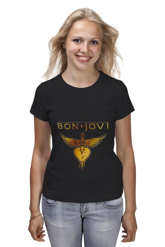 Футболка классическая Printio Bon jovi bon jovi in their own words