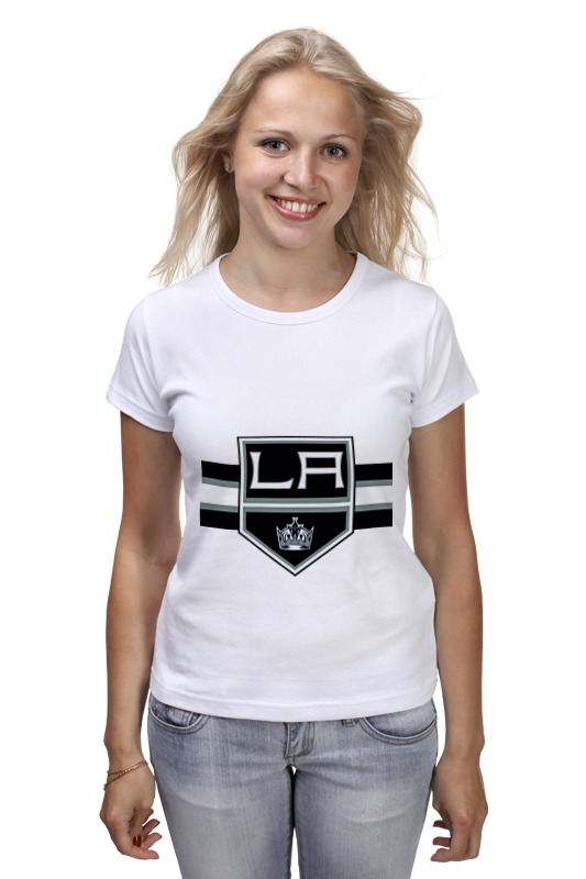 Футболка классическая Printio Лос-анджелес кингс футболка wearcraft premium printio los angeles kings nhl usa