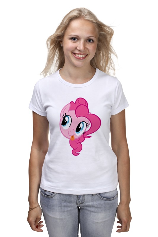 Футболка классическая Printio My little pony - пинки пай (pinkie pie) just me and my dad little critter