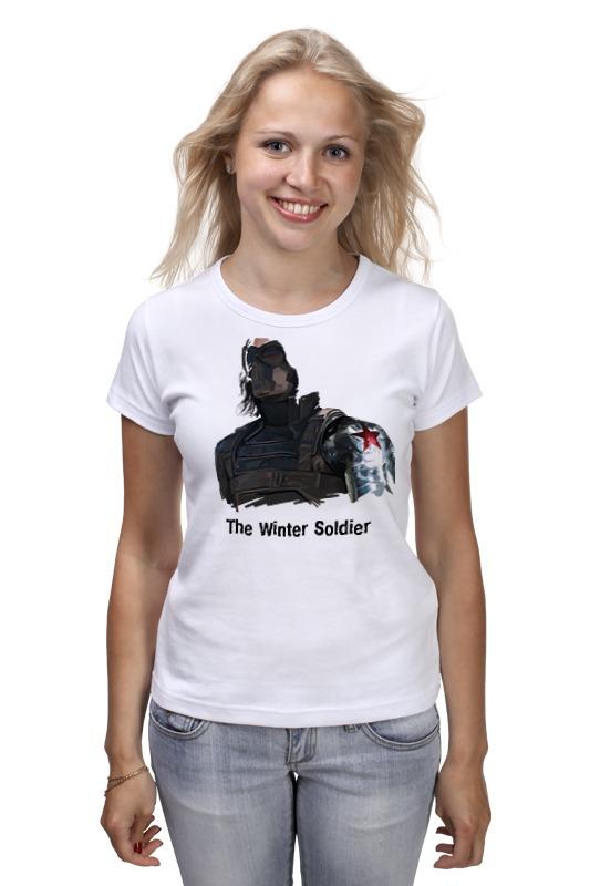 Футболка классическая Printio Зимний солдат футболка классическая printio неизвестный солдат