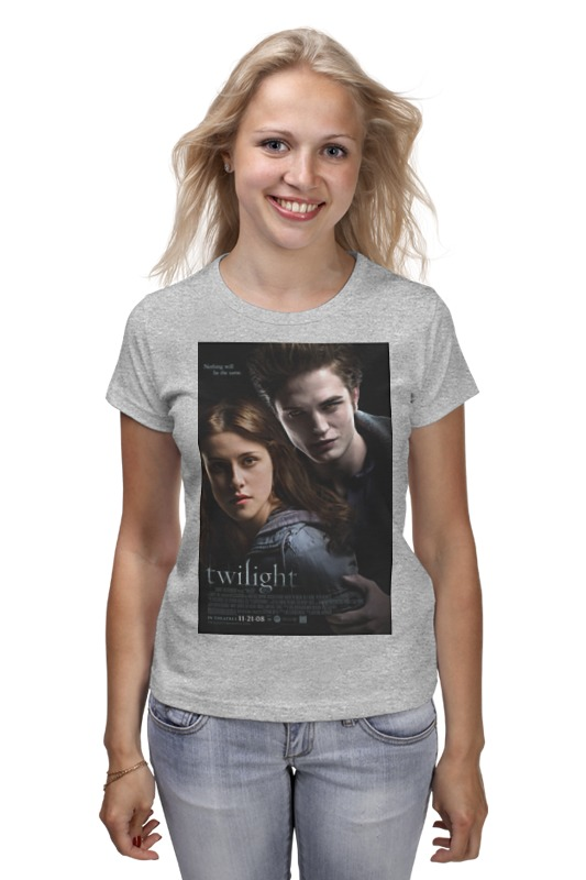 Футболка классическая Printio The twilight saga / сумерки fanpire the twilight saga and the women who love it