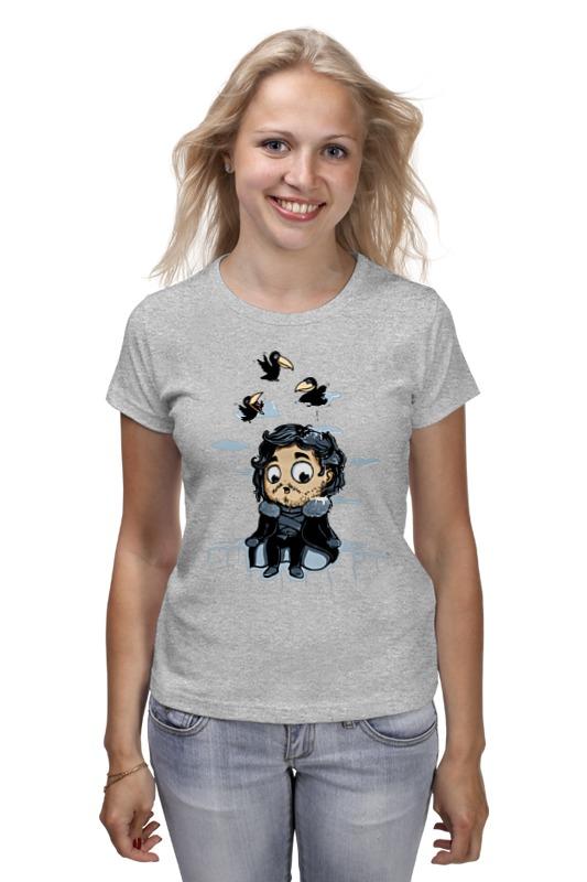 Printio Джон сноу (игра престолов) футболка классическая printio jon snow из сериала игра престолов 5