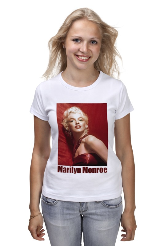 Футболка классическая Printio Marilyn monroe red elplp68 v13h010l68 for eh tw5900 tw5910 tw6000 tw6000w tw6100 original bare lamp free shipping