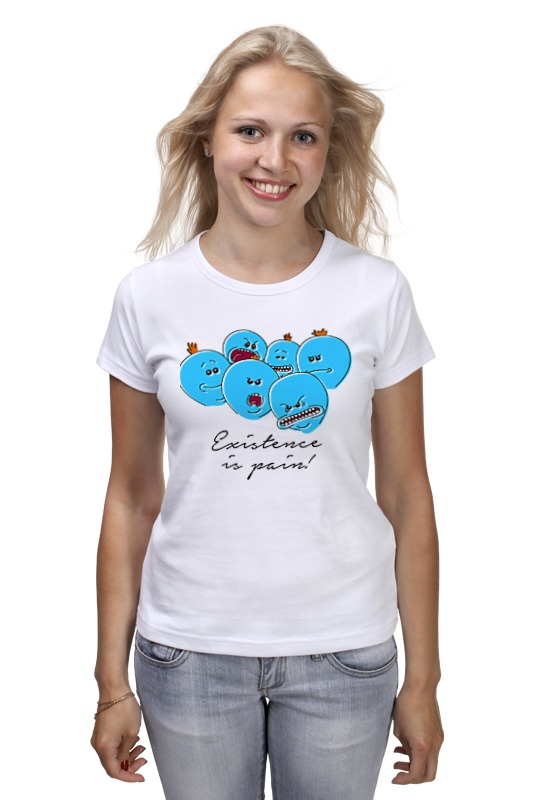 Футболка классическая Printio Existence is pain! футболка wearcraft premium slim fit printio existence is pain