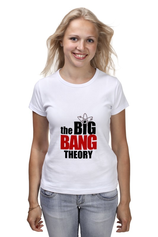 Футболка классическая Printio The big bang theory сумка printio the big bang theory