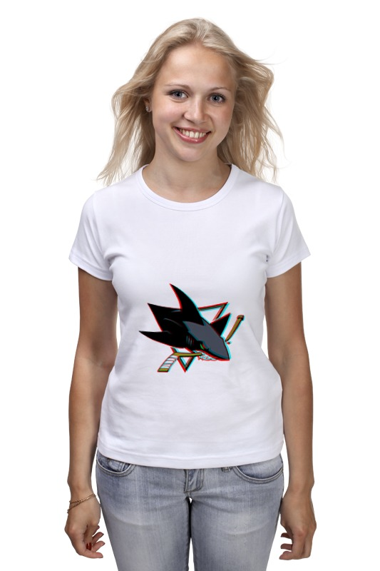 Футболка классическая Printio San jose sharks haunts of san jose