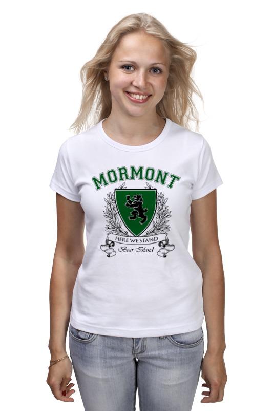 Футболка классическая Printio Игра престолов. дом мормонтов футболка wearcraft premium printio игра престолов