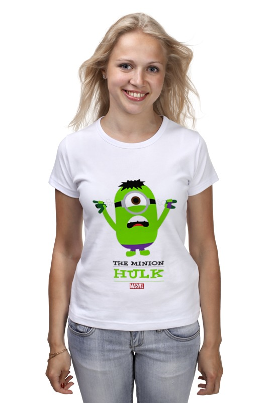 Футболка классическая Printio The minion hulk футболка стрэйч printio the minion hulk