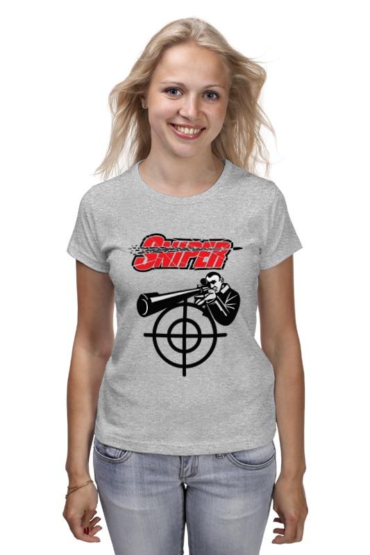 Футболка классическая Printio Sniper футболка классическая printio sniper