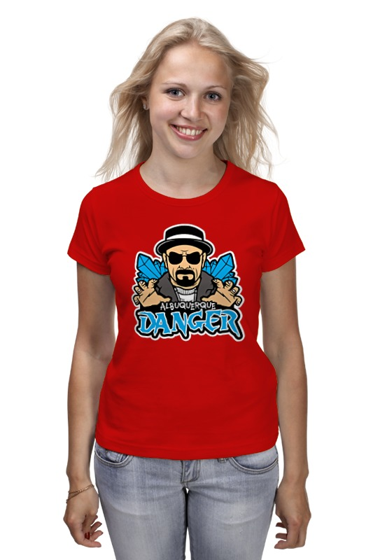 Футболка классическая Printio Heisenberg danger футболка print bar danger toxic