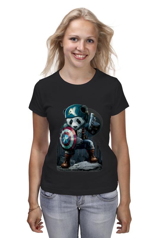 Футболка классическая Printio Капитан панда футболка классическая printio капитан