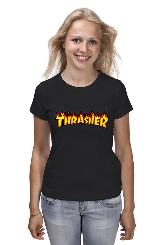 Футболка классическая Printio Thrasher thrasher футболка thrasher flame logo long sleeve black s