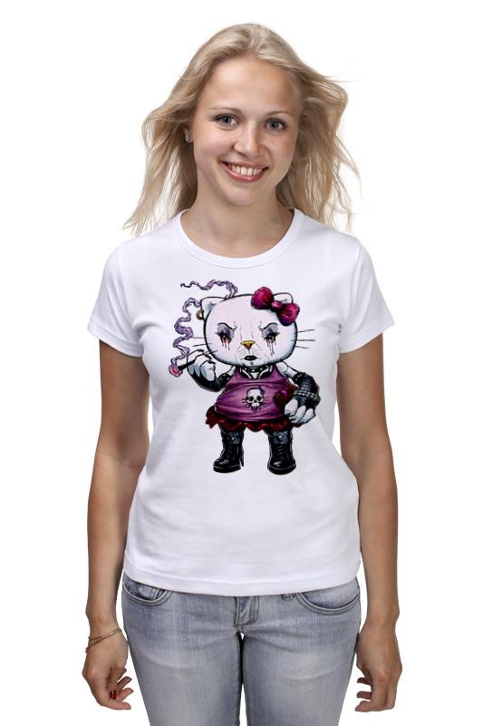 Футболка классическая Printio Hello kitty cxzyking 20cm sweet new kt cat hello kitty plush toys cute hug mushroom hello kitty kt cat pillow dolls for kids baby girl gift