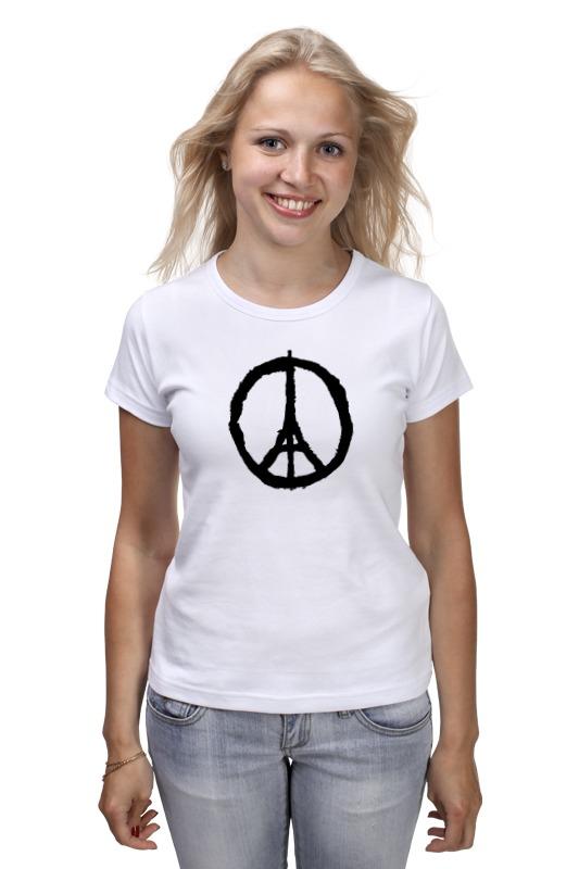 Футболка классическая Printio Париж франция авиарейсы в париж