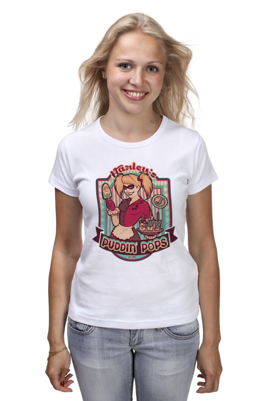 Футболка классическая Printio Харли квинн футболка харли квинн