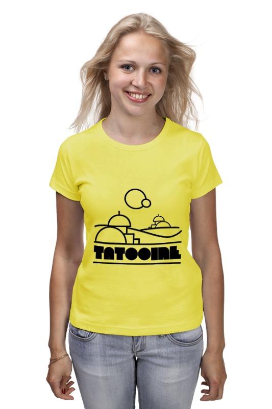 Футболка классическая Printio Татуин (tatooine) детская футболка классическая унисекс printio татуин tatooine
