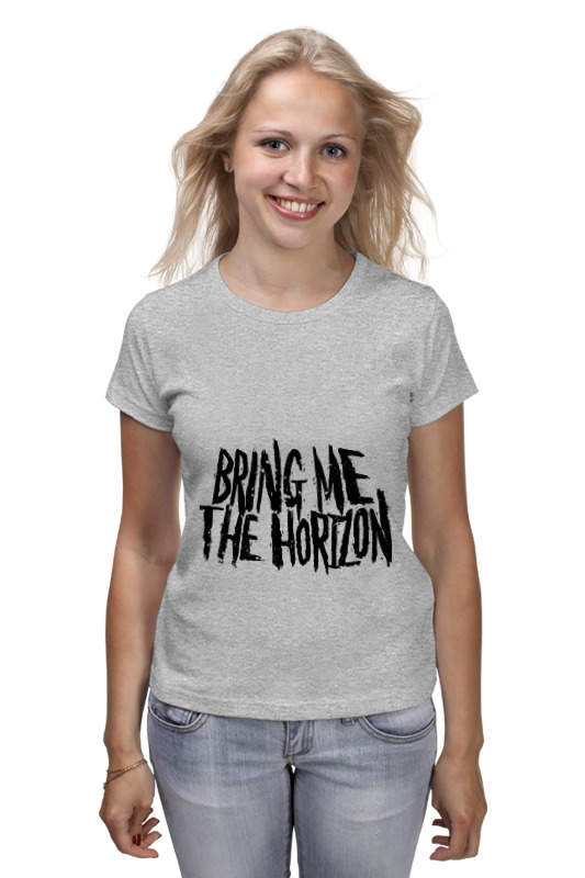 Футболка классическая Printio Bring me the horizon футболка рингер printio bring me the horizon змеи