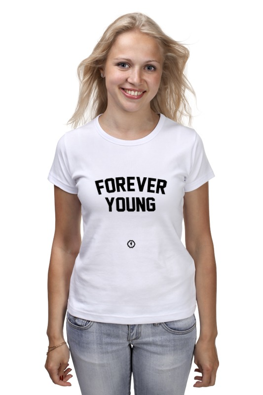 Футболка классическая Printio Forever young by brainy roxy футболка forever young b