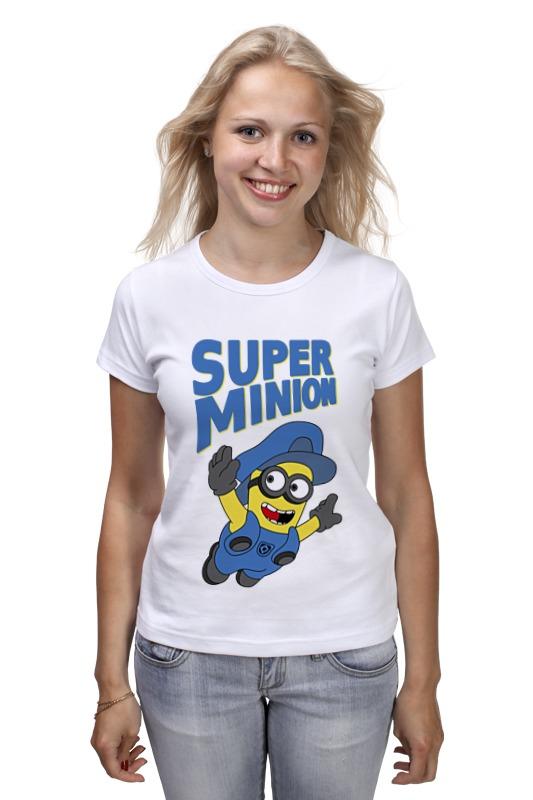Футболка классическая Printio Super minion футболка print bar super minion