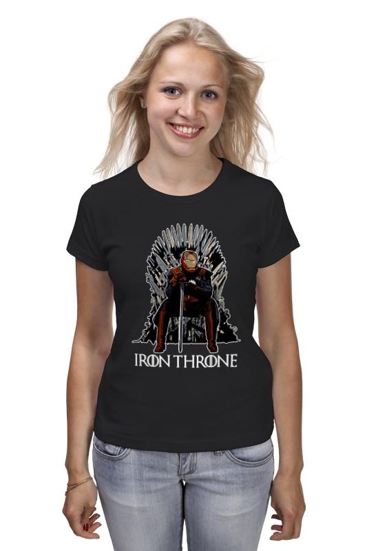 Футболка классическая Printio Iron throne плед throne 150х200cm 103 1 2885345