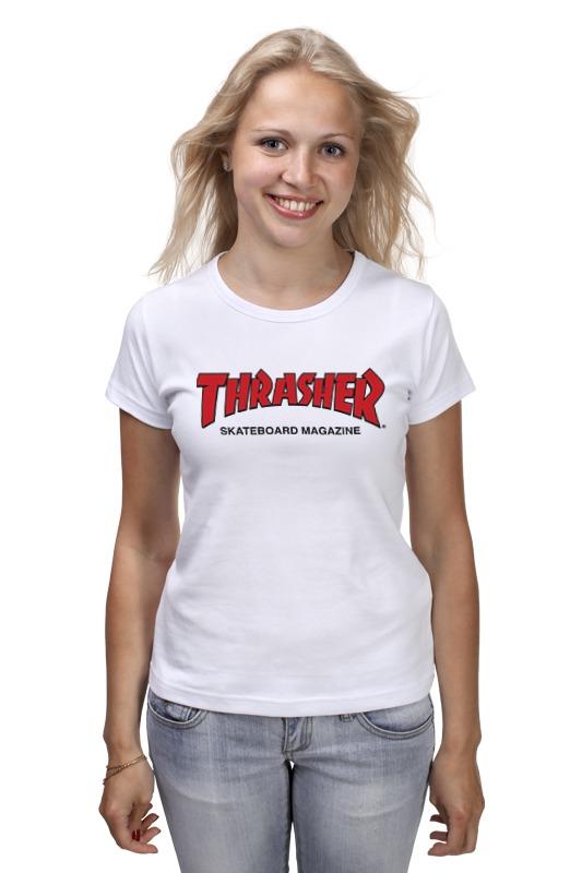 Футболка классическая Printio Thrasher футболка thrasher на алиэкспресс