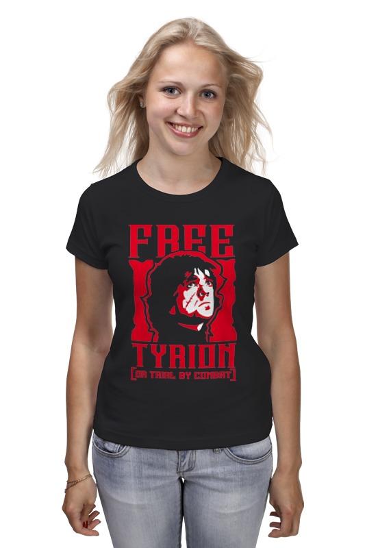 Футболка классическая Printio Free tyrion