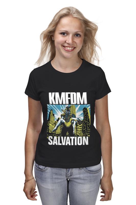 Футболка классическая Printio Kmfdm salvation