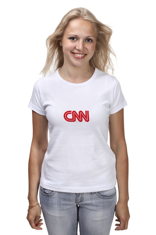 Футболка классическая Printio Cnn (cable news network) kd 1 network cable installation tool white grey
