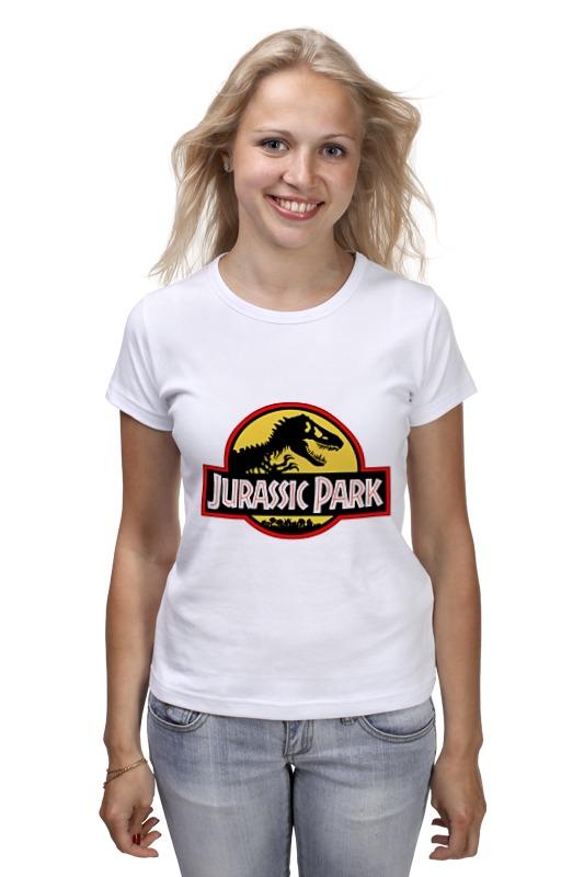 Футболка классическая Printio Парк юрского периода футболка рингер printio парк юрского периода