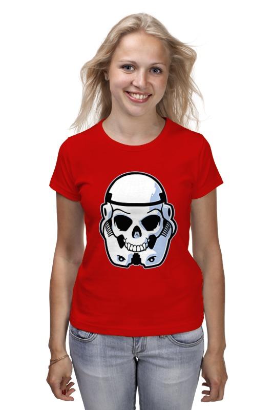 Футболка классическая Printio Skull trooper