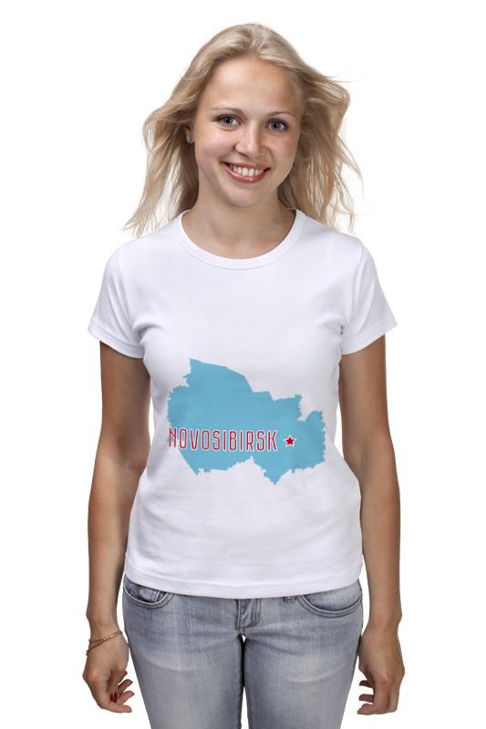 Футболка классическая Printio Новосибирская область. новосибирск