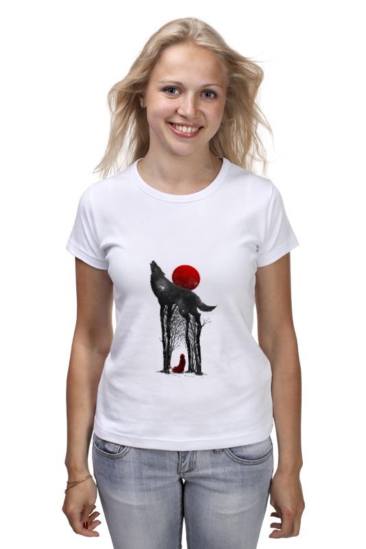 Футболка классическая Printio Little red футболка 501 красная
