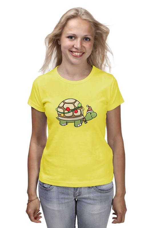 Футболка классическая Printio Новогодняя черепаха футболка print bar новогодняя фантазия