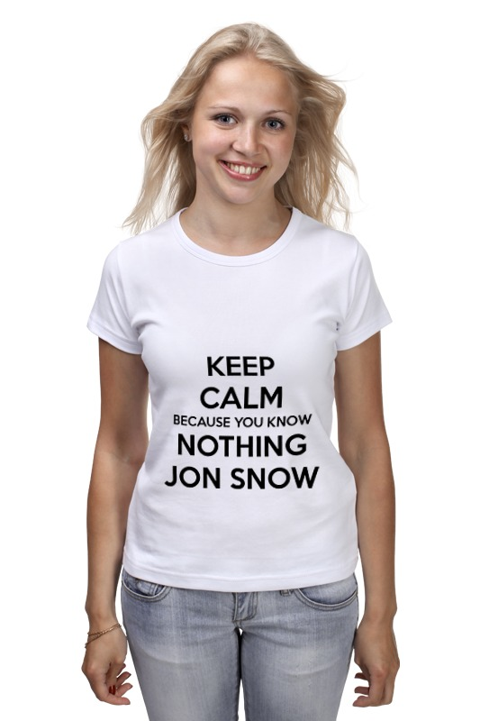 Футболка классическая Printio Jon snow