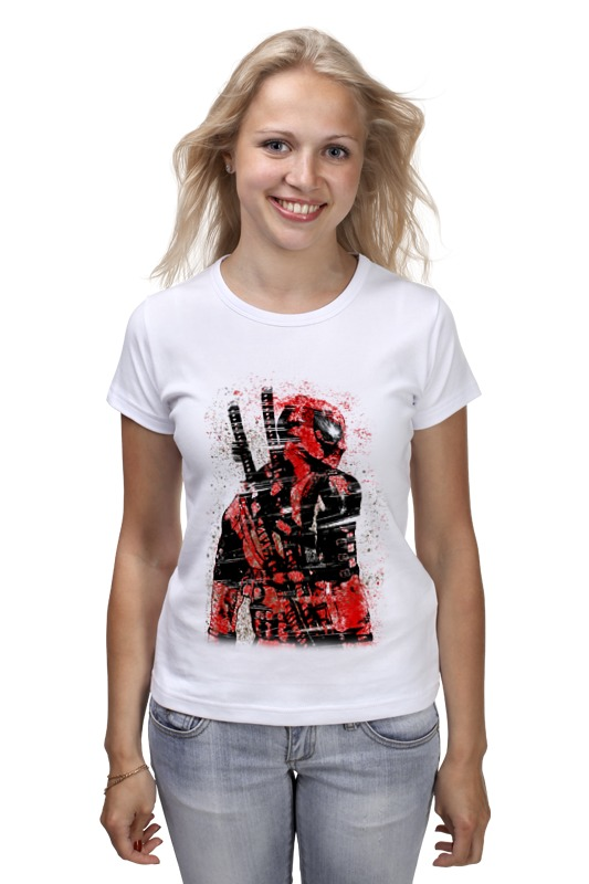 Футболка классическая Printio Deadpool футболка классическая printio deadpool content