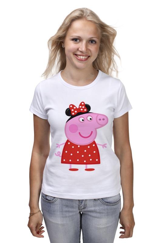 Футболка классическая Printio Peppa pig рюкзачок малый свинка пеппа утка peppa pig